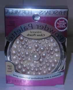 "PHYSICIANS FORMULA MINERAL GLOW PEARLS POWDER PALETTE ""LIGHT"