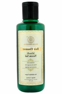 Khadi Natural Ayurveda Neem Set Herbal Shampoo 210 ML