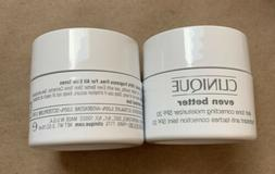 NEW CLINIQUE EVEN BETTER SKIN TONE CORRECTING MOISTURIZER SP