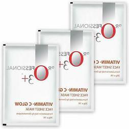 o3 vitamin c glow face sheet mask
