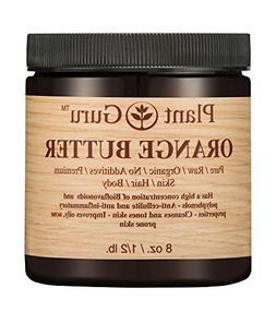 Orange Body Butter 8 oz. 100% Pure Raw Fresh Natural Cold Pr