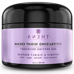 Organic Night Cream Anti Aging Wrinkle Cream With Hyaluronic