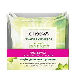 Aveeno Positively Radiant Oil-Free Makeup Removing Wipes to