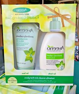 Aveeno Radiant-Looking Skin Gift Pack Set Body Lotion  Skin