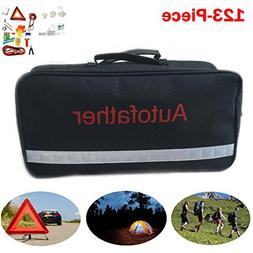 Roadside Emergency Kit for Car Truck Vehicle with Triangle,