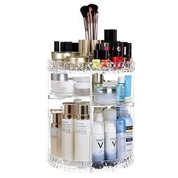 SONGMICS Large Makeup Organizer 360 Degree Rotating Cosmetic