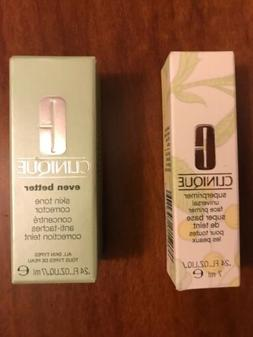 Set Of 2 Clinique Products - Superprimer 0.24 oz & Skin Tone