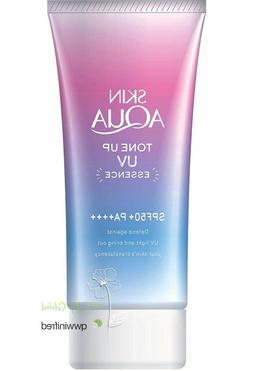 skin aqua tone up uv essence spf50