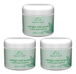 Venus Skin Lighten Lightening and Fade Cream 3 - 2oz Jars Na