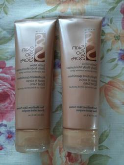 Avon Skin So Soft Satin Glow Daily Body Moisturizer  For Med