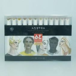 ARTEZA Skin Tone Alcohol Based Everblend Art Markers, Set of