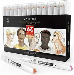 skin tone alcohol based everblend art markers
