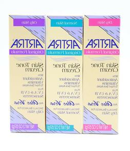 ARTRA Skin Tone Cream, Normal, Dry, Oily 2 oz