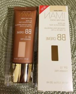 Iman Skin Tone Evener BB Creme SPF 15 Sand Light