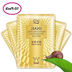 Snail Face Mask – Snail Sheet Masks – Anti-Wrinkle Face