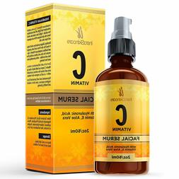 Vitamin C Serum for Face - Topical Facial Serum with Hyaluro