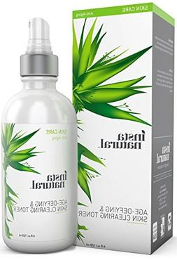 InstaNatural Vitamin C Toner - With Salicylic Acid, Hyaluron