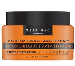 Danielle Wash-Off Facial Mask with Vitamin C and Green Tea,